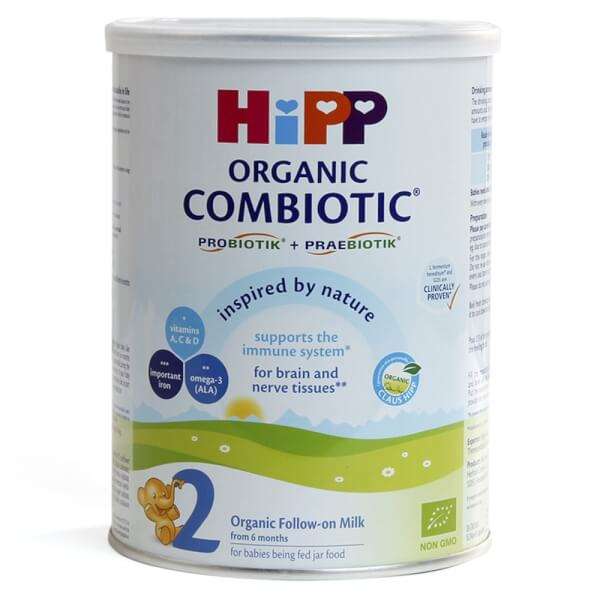Hipp 2 Combiotic Organic Follow-on, 350g