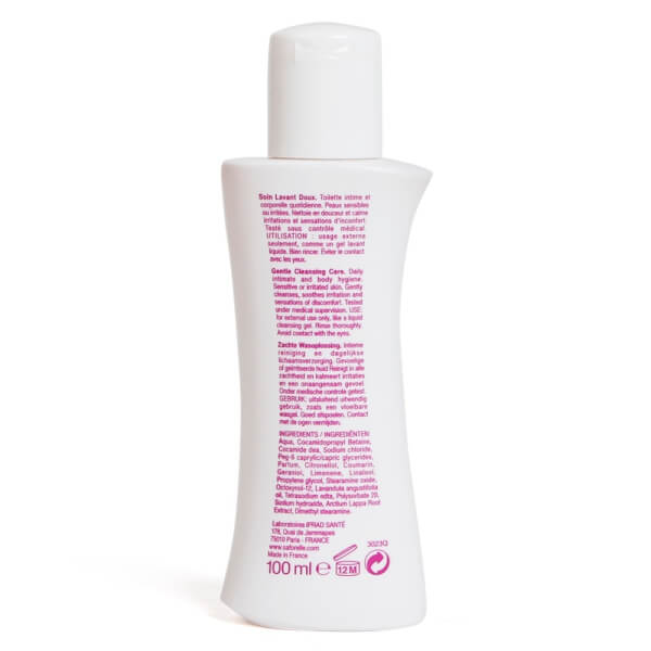 Dung dịch vệ sinh phụ nữ SAFORELLE Gentle Cleansing care 100ml