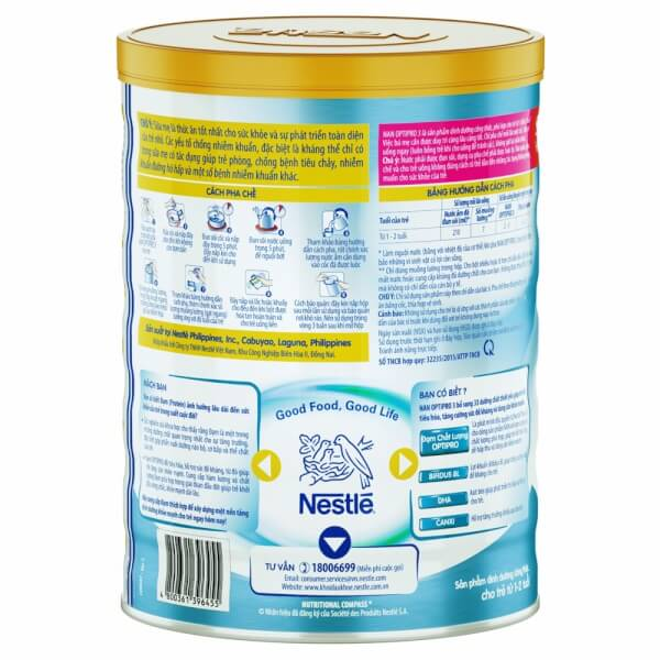Nestle NAN Optipro 3, 900g