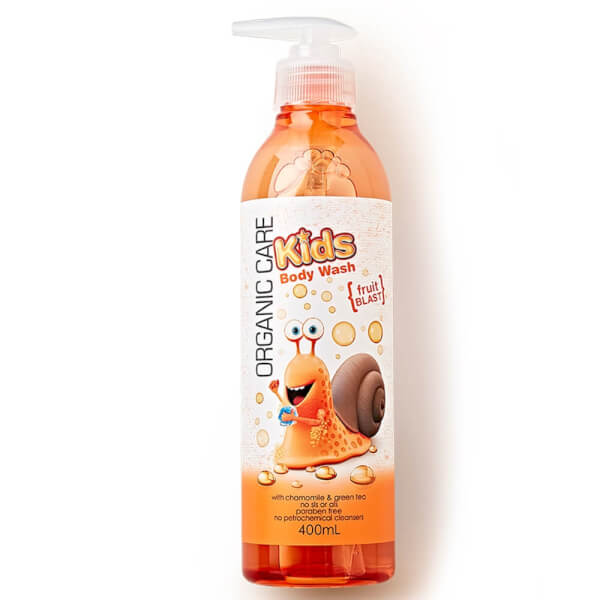 Sữa tắm Organic care Kids Fruit blast 400ml