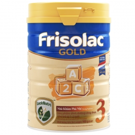Frisolac Gold số 3, 900g