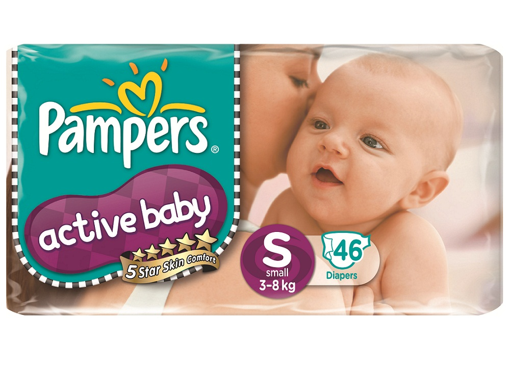 Pampers LE Tape Value S46 - Back